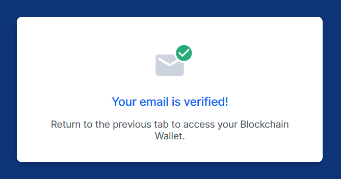 Cách tạo Ví Bitcoin trên Blockchain.com - Bước 3.2
